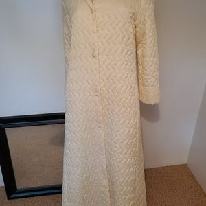 Chrisrian Dior Quilted full length robe